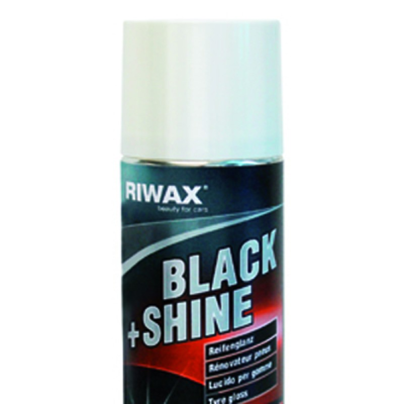 Tyre black and shine