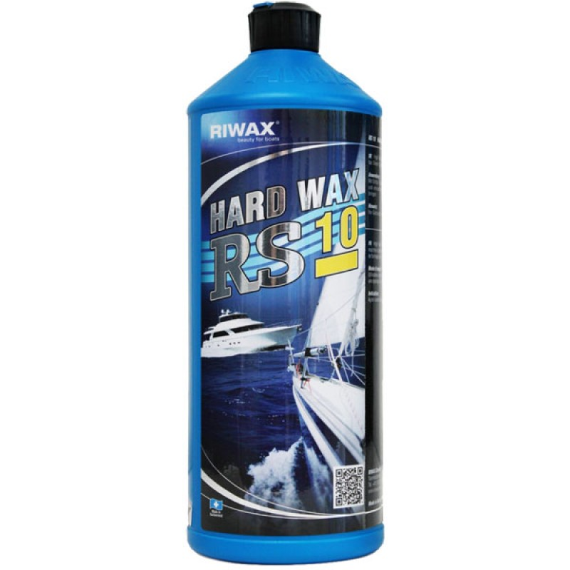 Riwax® RS10 Hard Wax, Boat Wax, Gelcoat Protector, 1L, 11005-1