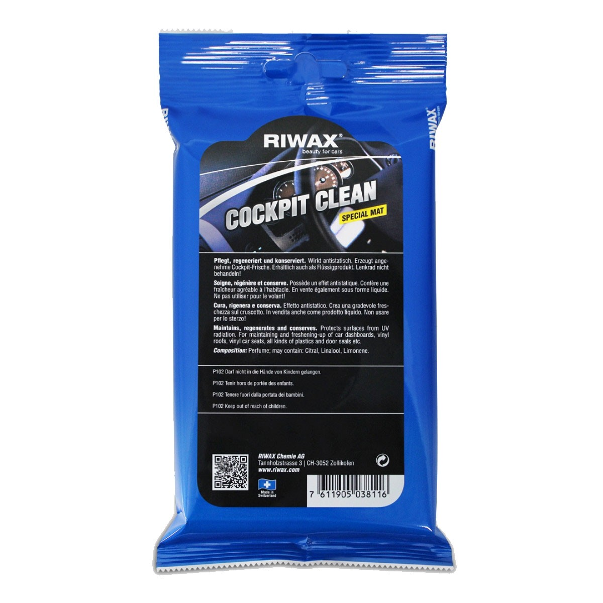 Riwax Cockpit Spray Special Mat