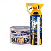 Soft99 Set Extreme Gloss Wax Kiwami Light + Rain Drop Bazooka