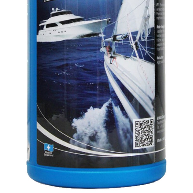 Boat polishing compound to remove minor scratches