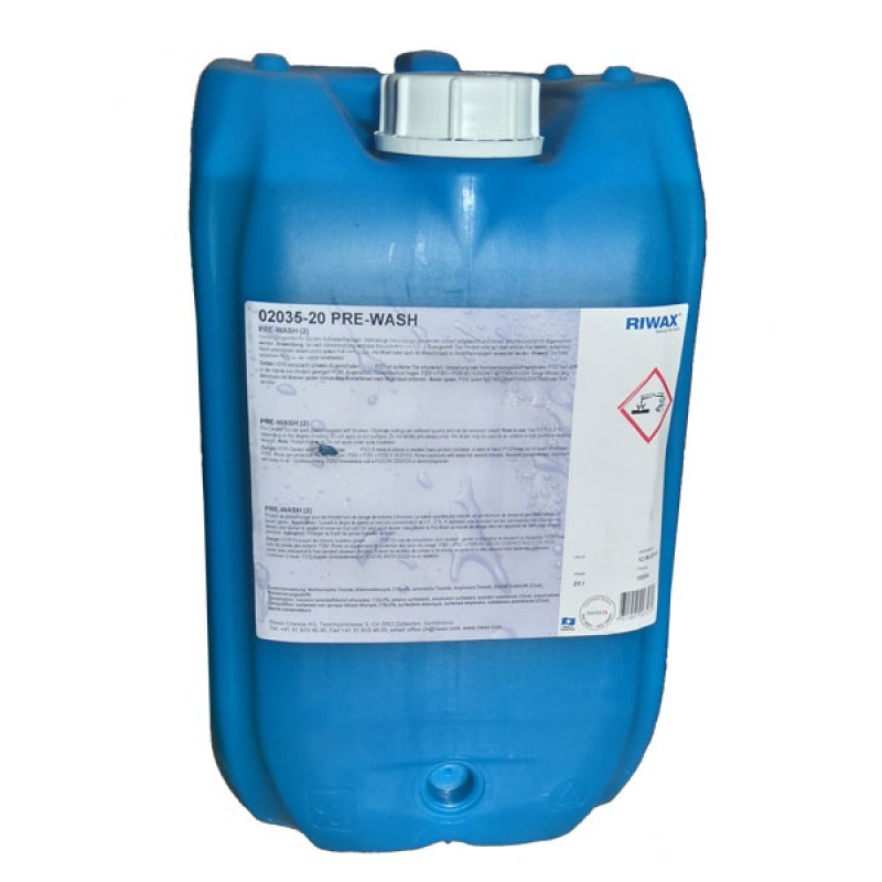 Riwax® Baseline Pre-Wash