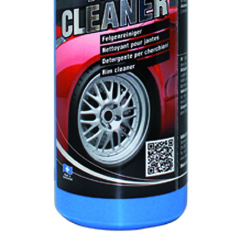 Powerful wheel cleaner