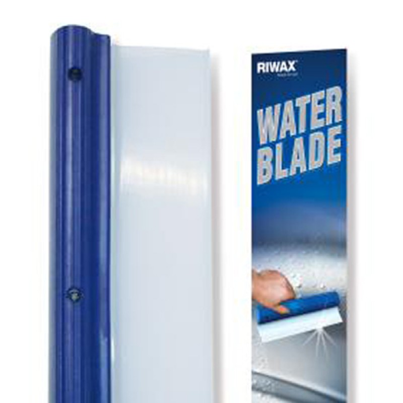 Use water blade for car drying