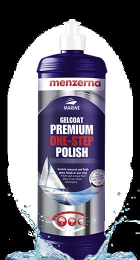 Gelcoat one-step polish