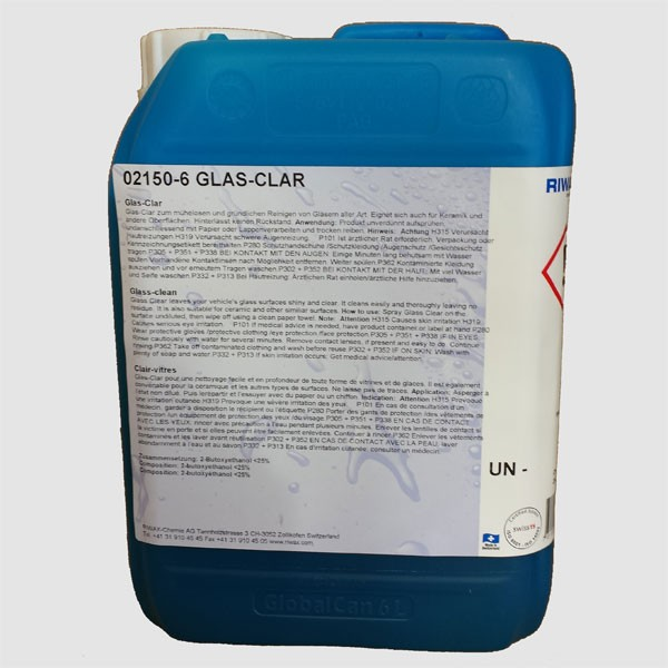 Riwax glass cleaner 5 litres