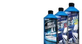 RS Nautic line for boat wash and care